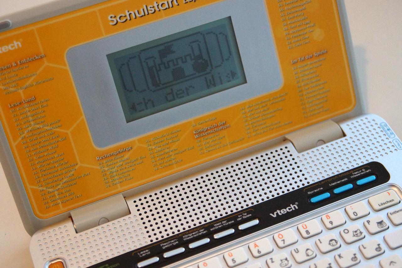 Lerncomputer ab 8 mit einfacher Bedienbarkeit