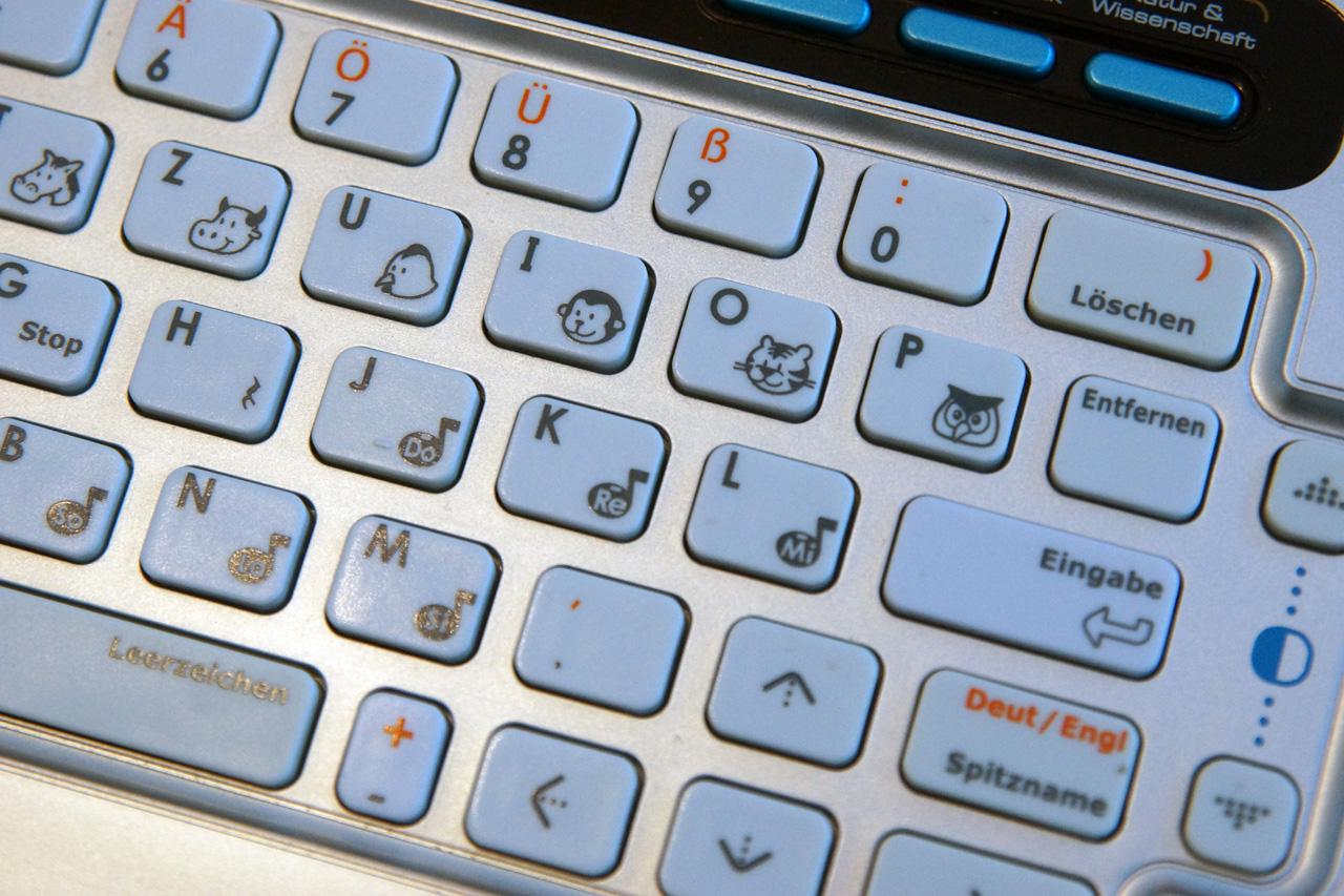 Tastatur Lerncomputer